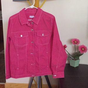 NEW LISTING! Denim & Co Pink Jacket